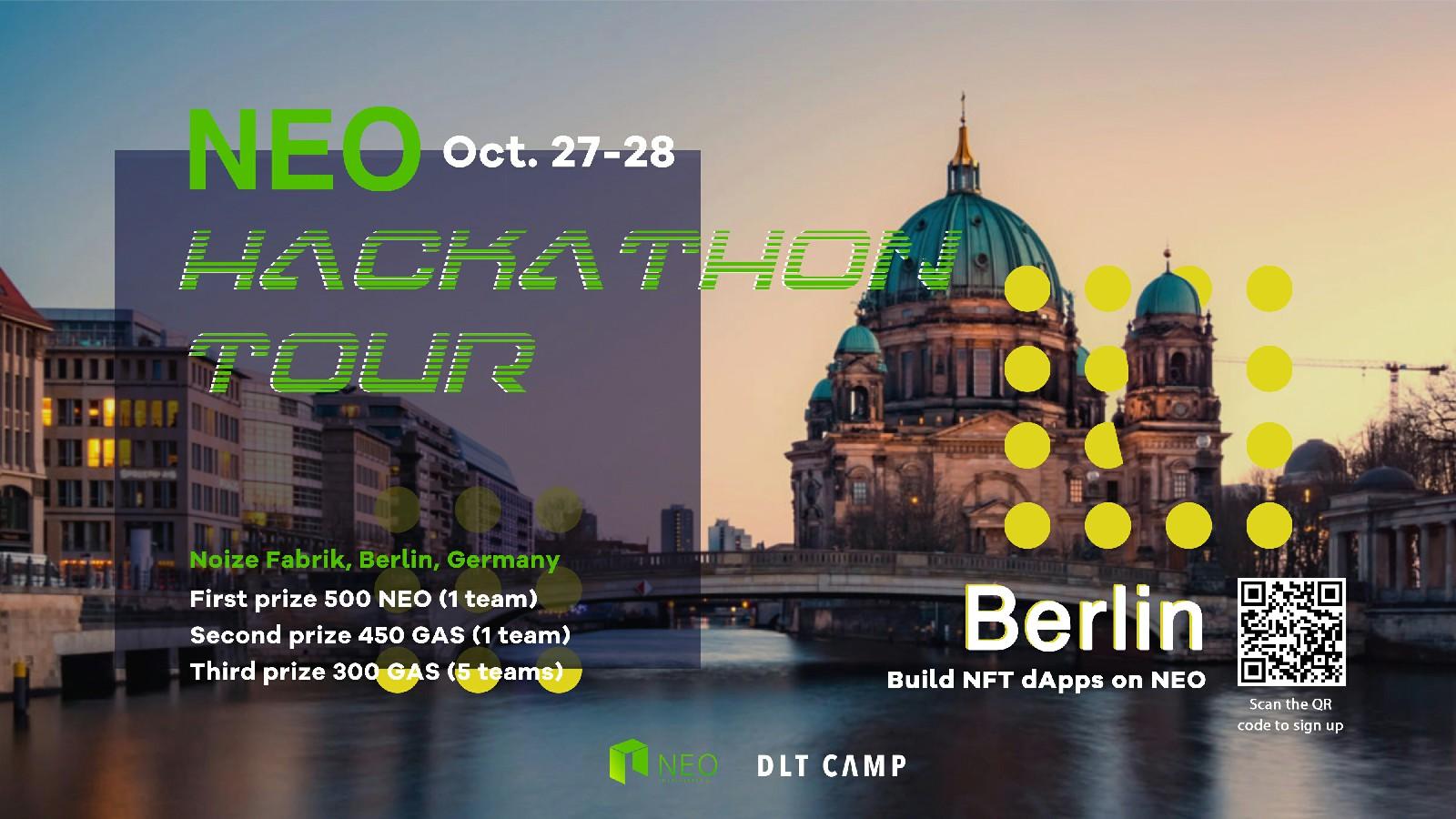 NEO Blockchain Hackathon — Berlin - NEO Smart Economy